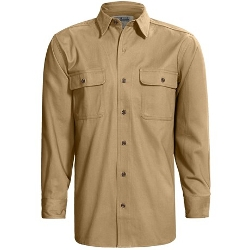 Stormy Kromer - Long Sleeve Twill Shirt