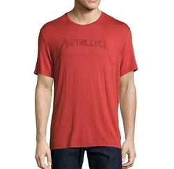 John Varvatos Star USA  - Metallica Logo Graphic T-Shirt