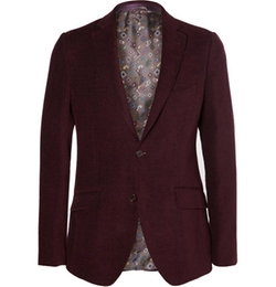 Etro   - Wool And Cotton-Blend Chenille Blazer