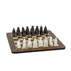 Wood Expressions - Isle of Lewis Antiquity Chess Set