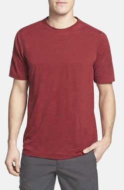 Ibex  - Regular Fit Overdyed Merino Wool T-Shirt