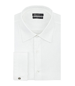 Kenneth Cole New York - Point-Collar French Cuff Dress Shirt