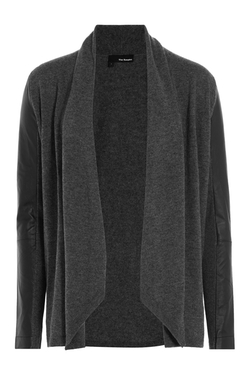 The Kooples  - Draped Merino Wool Cardigan