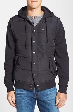 RVCA  - Puffer Fleece Hooded Jacket