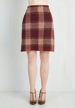 Mod Cloth - London Lit Tour Skirt