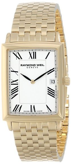Raymond Weil  - Gold-Plated Stainless Steel Bracelet Watch