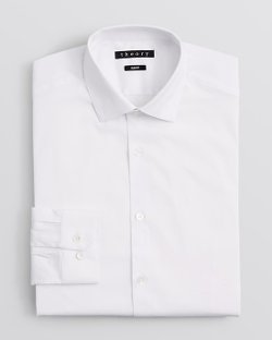 Theory Dover - Slim Fit Dress Shirt