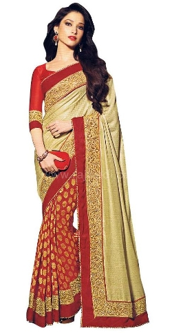 Rajwadi - Thick Border Work Tamanna Bhatia Saree