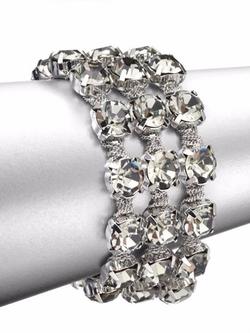 ABS by Allen Schwartz Jewelry  - Faceted Multi-Row Bracelet