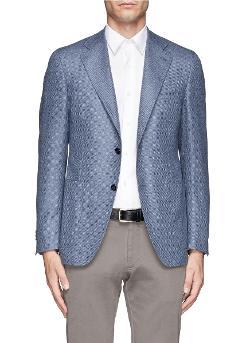 Canali   - Wool-Cashmere-Silk Blazer
