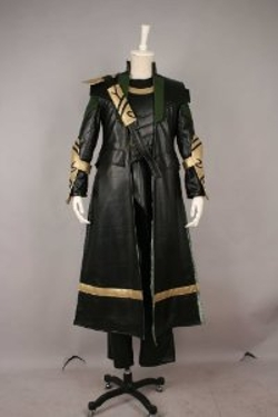 Cosplayer World - Loki Cosplay Costume
