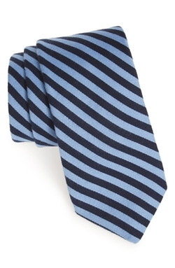 Todd Snyder White Label  - Stripe Cotton & Silk Tie