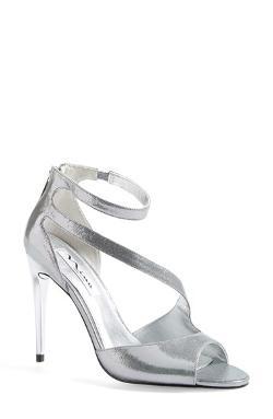 Nina  - McKenna Metallic Ankle Strap Sandal