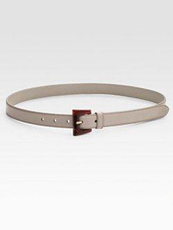 Prada  - Madras Leather Belt
