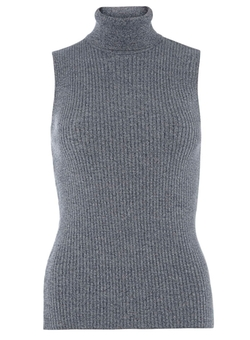 Dorothy Perkins - Sleeveless Roll Neck Sweater