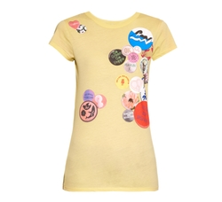 Stella McCartney - Badges-Print Cotton-Jersey T-Shirt