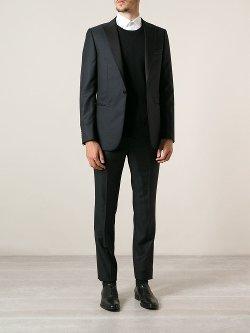 Z Zegna  - Jacquard Texture Suit