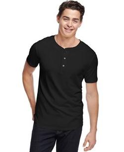 Alternative Apparel  - Short-Sleeve Henley Shirt