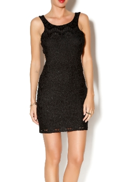 Wishlist - Sleeveless Lace Dress