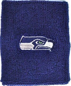 For Bare Feet - Seattle Seahawks Sweat Wristbands