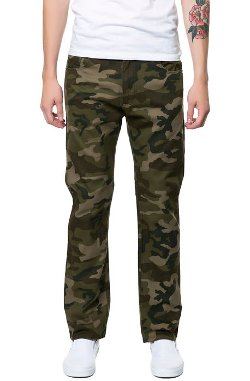 Springfield Classic - Camouflage Twill Straight Fit Long Pants
