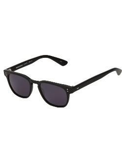 Masunaga - Flat Top Wayfarer Sunglasses