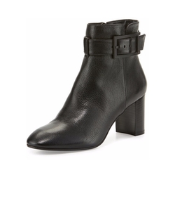 Aquatalia by Marvin K - Vanie Leather Ankle-Strap Boots