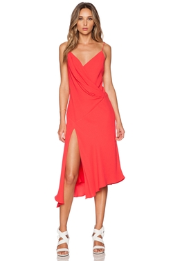 Nicholas - Bias Wrap Drape Dress