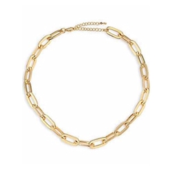 Jules Smith - Oversized Cable Link Necklace