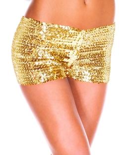 Herosky - Sequin Glitter Shorts