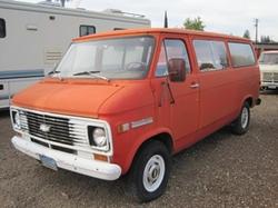 Chevrolet - 1972 G20 Sportsvan