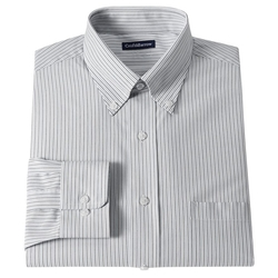 Croft & Barrow - Classic-Fit Striped Dress Shirt