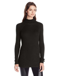 Knits By Hampshire - Ribbed Turtleneck Sweater