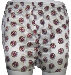 Merge Left - Silk Boxer Shorts