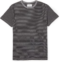 Officine Generale  - Striped Cotton T-shirt