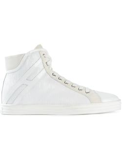 Hogan Rebel - Sequin Hi-Top Sneakers