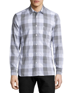 Burberry Brit - Buffalo Check Long-Sleeve Sport Shirt