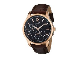 Guess - Dress Dial Leather Strap Watch