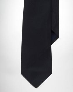 Polo Ralph Lauren - Solid Silk Repp Tie