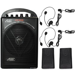 Audio 2000S - Wireless Microphone Portable PA System