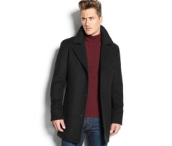 Michael Kors - Cashmere-Blend Slim-Fit Overcoat