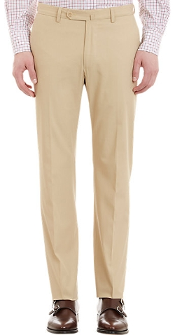 Incotex  - Flat-Front Trousers