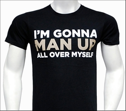 Broadway.com - Man Up T-Shirt