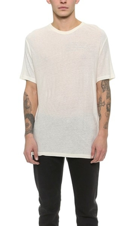 T By Alexander Wang - Slub Crew Neck T-Shirt