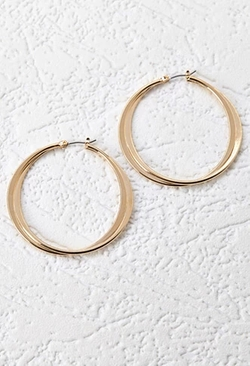 Forever 21 - Layered Hoops Earrings