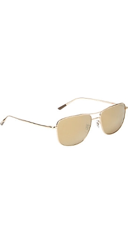 Oliver Peoples  - Shaefer 55 Aviator Sunglasses
