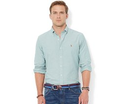 Polo Ralph Lauren  - Solid Oxford Shirt