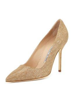 Manolo Blahnik   - BB Suede Pump Shoes