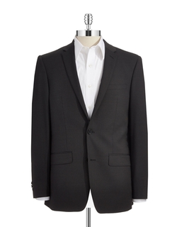DKNY - Skinny Two-Button Suit Jacket