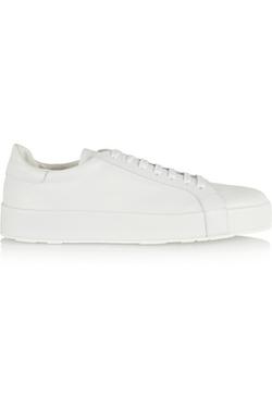 Jil Sander - Leather Sneaker Shoes